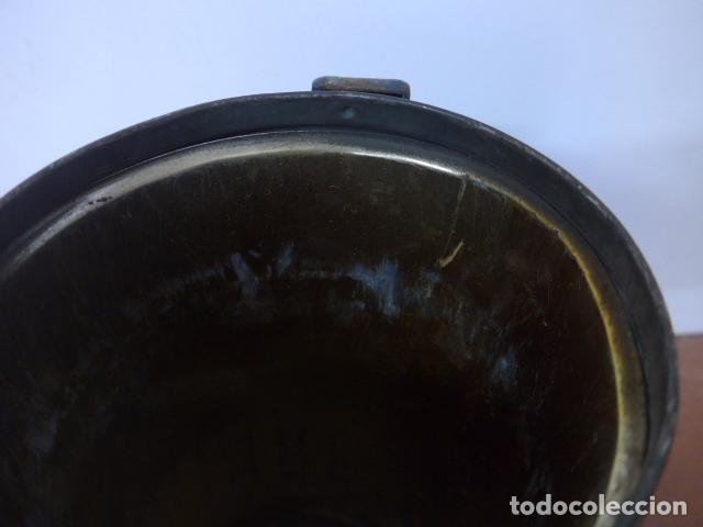 Militaria: Antigua mascara de gas alemana de guerra civil, Legion condor, con gris original. Antigas. Alemania. - Foto 12 - 213663223