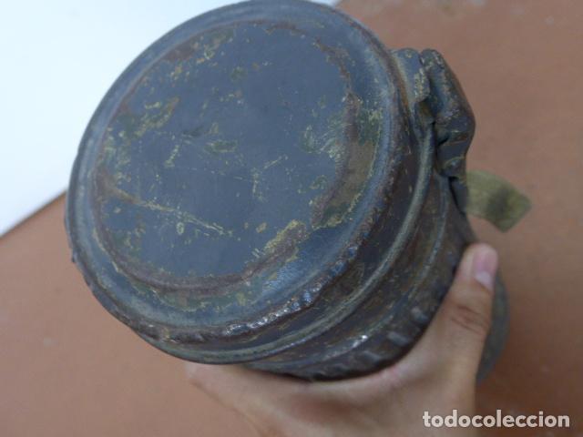 Militaria: Antigua mascara de gas alemana de guerra civil, Legion condor, con gris original. Antigas. Alemania. - Foto 16 - 213663223