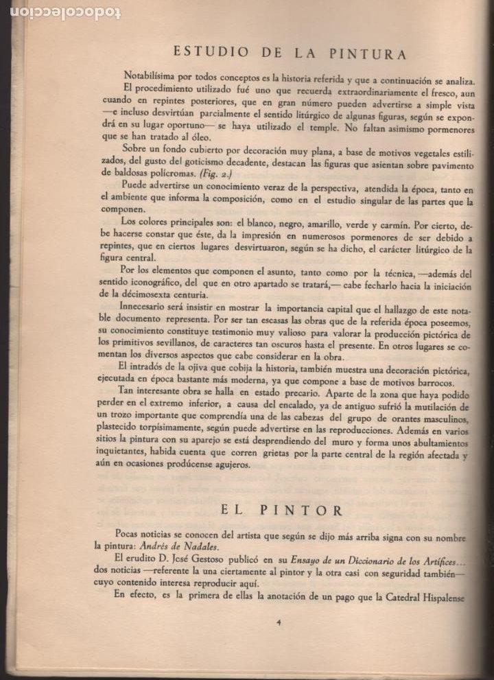 Militaria: SEVILLA-ALCALA DEL RIO- LOS REYES CATOLICOS Y LA CAPILLA SAN GREGORIO.- EJEMPLAR Nº 200 -TIRADA: 250 - Foto 4 - 214292878