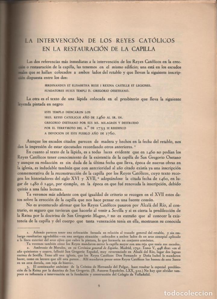 Militaria: SEVILLA-ALCALA DEL RIO- LOS REYES CATOLICOS Y LA CAPILLA SAN GREGORIO.- EJEMPLAR Nº 200 -TIRADA: 250 - Foto 5 - 214292878