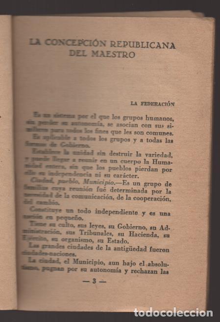 Militaria: LO QUE SERA LA REPUBLICA FEDERAL- PARTIDO DEMOCRATICO FEDERAL- AÑO 1931,. VER FOTOS - Foto 3 - 214295337