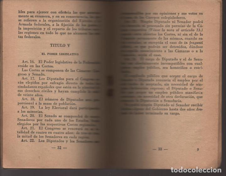 Militaria: LO QUE SERA LA REPUBLICA FEDERAL- PARTIDO DEMOCRATICO FEDERAL- AÑO 1931,. VER FOTOS - Foto 5 - 214295337