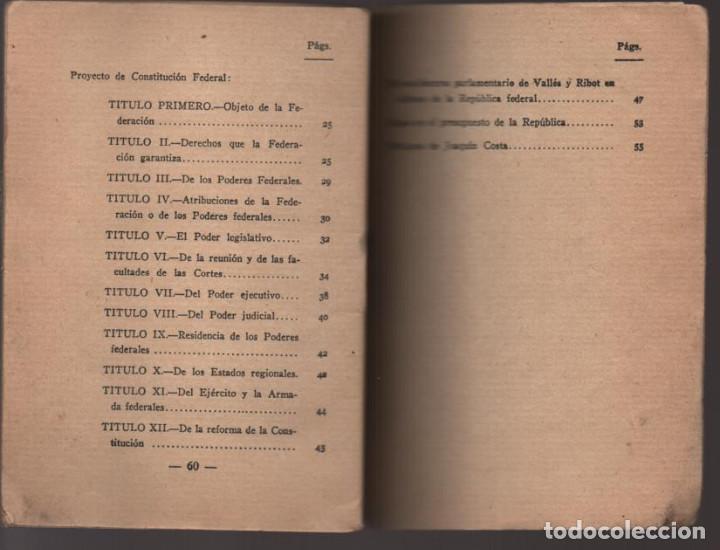 Militaria: LO QUE SERA LA REPUBLICA FEDERAL- PARTIDO DEMOCRATICO FEDERAL- AÑO 1931,. VER FOTOS - Foto 8 - 214295337