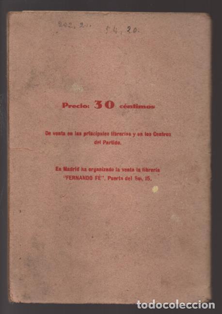 Militaria: LO QUE SERA LA REPUBLICA FEDERAL- PARTIDO DEMOCRATICO FEDERAL- AÑO 1931,. VER FOTOS - Foto 9 - 214295337
