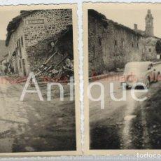 Militaria: 1937 GUERRA CIVIL 10 FOTOGRAFÍAS TOMA DE OTXANDIO (OCHANDIANO) VIZCAYA Y VILLAREAL (LEGUTIANO) ÁLAVA. Lote 214524243