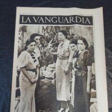 Militaria: LA VANGUARDIA. BARCELONA. 8 DE AGOSTO DE 1937. Lote 216751185