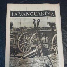 Militaria: LA VANGUARDIA. BARCELONA. 13 DE JUNIO DE 1937. Lote 216755990
