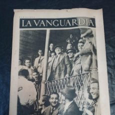 Militaria: LA VANGUARDIA. BARCELONA. 28 DE MAYO DE 1937. Lote 216757743