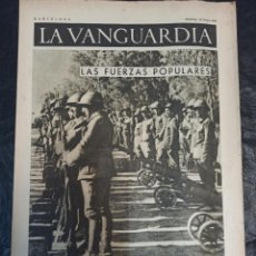 Militaria: LA VANGUARDIA. BARCELONA. 16 DE MAYO DE 1937. Lote 216758821