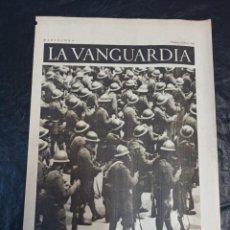 Militaria: LA VANGUARDIA. BARCELONA. 14 DE MAYO DE 1937. Lote 216759100