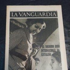 Militaria: LA VANGUARDIA. BARCELONA. 26 DE FEBRERO DE 1937. Lote 216771297