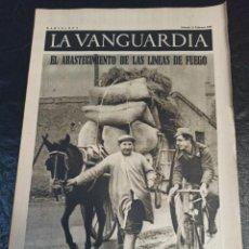Militaria: LA VANGUARDIA. BARCELONA. 13 DE FEBRERO DE 1937. Lote 216772708