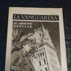 Militaria: LA VANGUARDIA. BARCELONA. 24 DE ENERO DE 1937. Lote 216775971