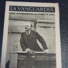 Militaria: LA VANGUARDIA. BARCELONA. 23 DE ENERO DE 1937. Lote 216776198