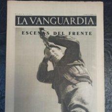 Militaria: LA VANGUARDIA. BARCELONA. 14 DE ENERO DE 1937. Lote 216777001