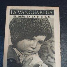 Militaria: LA VANGUARDIA. BARCELONA. 3 DE ENERO DE 1937. Lote 216778001