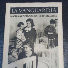 Militaria: LA VANGUARDIA. BARCELONA. 10 DE DICIEMBRE DE 1936. Lote 216837381