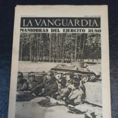Militaria: LA VANGUARDIA. BARCELONA. 3 NOVIEMBRE DE 1936. Lote 216842485