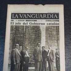 Militaria: LA VANGUARDIA. BARCELONA. 23 DE SEPTIEMBRE DE 1936. Lote 216848381