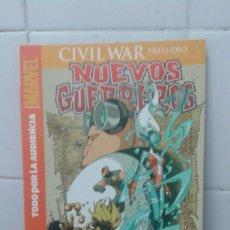 Militaria: CIVIL WAR, PRELUDIO, NUEVOS GUERREROS,TODO POR LA AUDIENCIA, PANINI COMICS, EXCELENTE ESTADO.. Lote 217178762