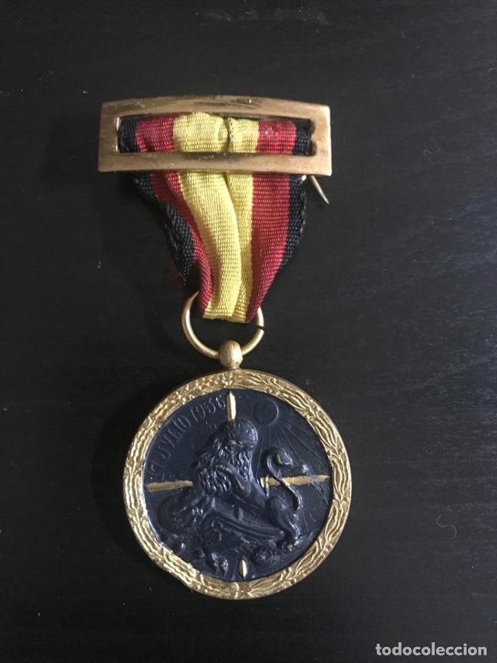 Militaria: MEDALLA - LEGIÓN CONDOR 17 JULIO 1936-CONCEDIDA POR LOS SERVICIOS PRESTADOS EN VANGUARDIA - Foto 4 - 217759483