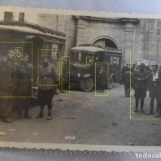 Militaria: GUERRA CIVIL SPAGNA FOTO 1937 FRECCE AZZURRE FLECHAS AZULES CTV CORPO TRUPPE VOLONTARIE. Lote 218545530