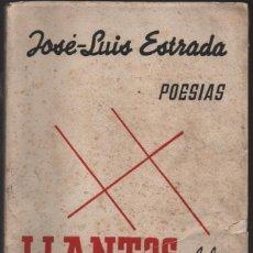Militaria: MADRID, --POESIAS-- LLANTOS DEL CAUTIVERIO- AÑO 1939. PAGINAS- 140, VER FOTOS. Lote 218668102