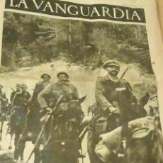Militaria: PERIODICO CON IMAGENES DE LA GCE 2. Lote 219045620