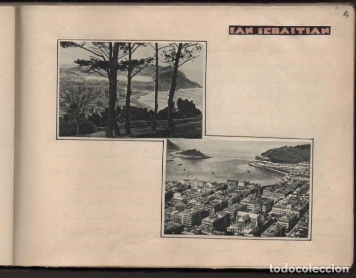 Militaria: ALBUN CON FOTOS,POSTALES Y DIBUJOS, VISITA GRUPO FRANCESES A ESPAÑA AÑO 1933, VER FOTOS - Foto 4 - 220700491
