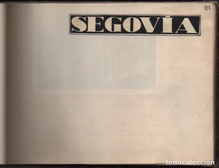 Militaria: ALBUN CON FOTOS,POSTALES Y DIBUJOS, VISITA GRUPO FRANCESES A ESPAÑA AÑO 1933, VER FOTOS - Foto 16 - 220700491