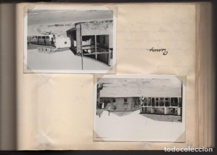 Militaria: ALBUN CON FOTOS,POSTALES Y DIBUJOS, VISITA GRUPO FRANCESES A ESPAÑA AÑO 1933, VER FOTOS - Foto 23 - 220700491