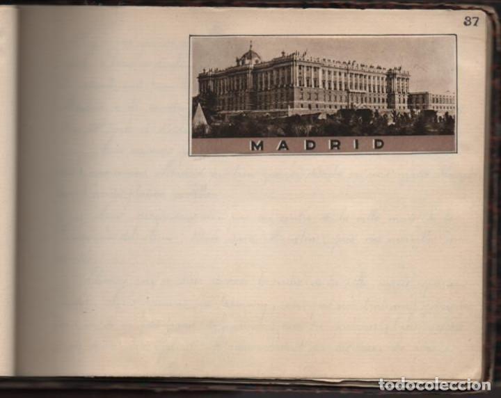 Militaria: ALBUN CON FOTOS,POSTALES Y DIBUJOS, VISITA GRUPO FRANCESES A ESPAÑA AÑO 1933, VER FOTOS - Foto 25 - 220700491