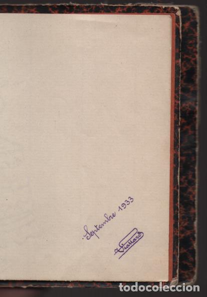 Militaria: ALBUN CON FOTOS,POSTALES Y DIBUJOS, VISITA GRUPO FRANCESES A ESPAÑA AÑO 1933, VER FOTOS - Foto 43 - 220700491