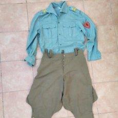 Militaria: UNIFORMIDAD LEGIÓN LEGIONARIO RECREACION HISTÓRICA GUERRA CIVIL. Lote 221513308