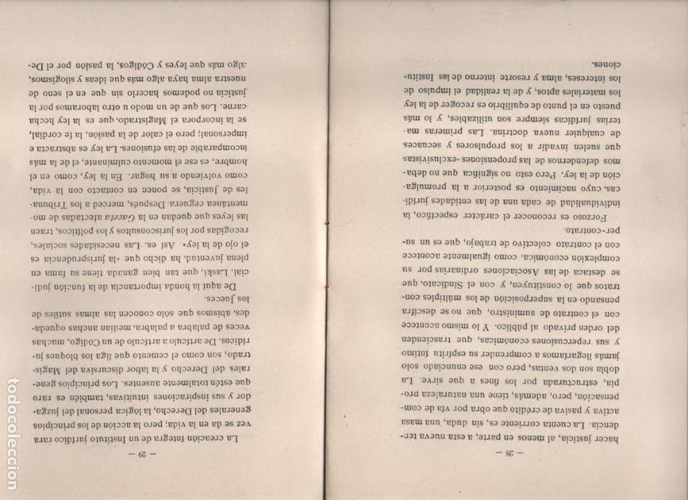 Militaria: DISCURSO LEIDO. EXCMO. SEÑOR.- VICENTE CANTOS FIGUEROLA, MINISTRO DE JUSTICIA, AÑO 1934-VER FOTOS - Foto 3 - 221761731