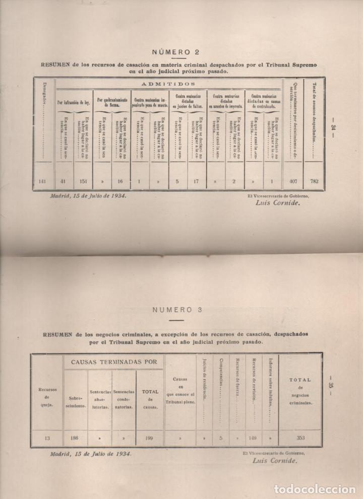 Militaria: DISCURSO LEIDO. EXCMO. SEÑOR.- VICENTE CANTOS FIGUEROLA, MINISTRO DE JUSTICIA, AÑO 1934-VER FOTOS - Foto 5 - 221761731