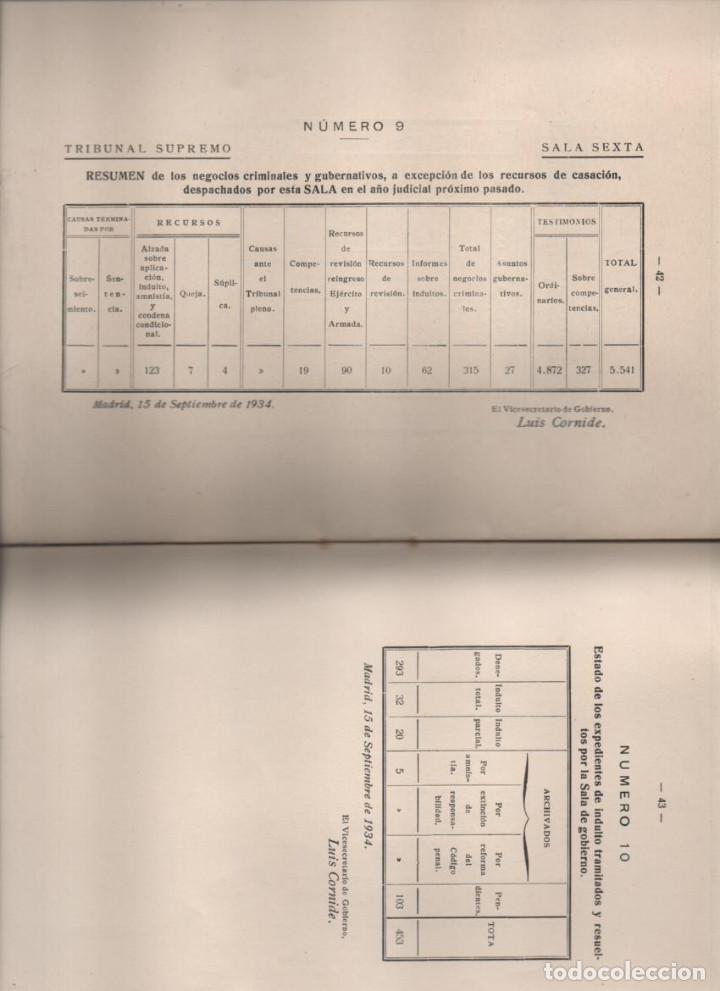 Militaria: DISCURSO LEIDO. EXCMO. SEÑOR.- VICENTE CANTOS FIGUEROLA, MINISTRO DE JUSTICIA, AÑO 1934-VER FOTOS - Foto 7 - 221761731