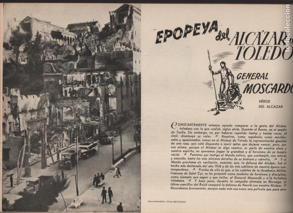 Militaria: ESPAÑA Y SU GLORIOSO EJERCITO,- NOTICIAS Y PARTES OFICIALES DE GUERRA-1936-1939- MAS DE 160 PAG. - Foto 12 - 221762632