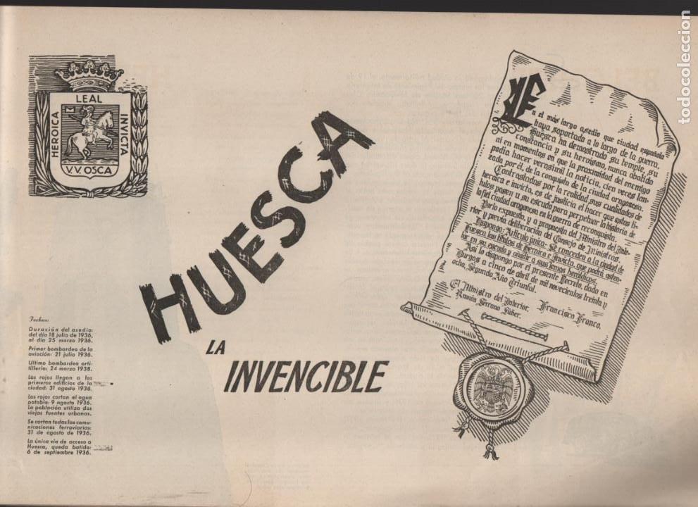 Militaria: ESPAÑA Y SU GLORIOSO EJERCITO,- NOTICIAS Y PARTES OFICIALES DE GUERRA-1936-1939- MAS DE 160 PAG. - Foto 13 - 221762632