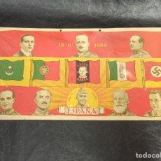 Militaria: PLACA PATRIÓTICA. 1923-1936. FRANCO, PRIMO DE RIVERA,.... OF. Lote 224014793