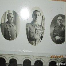 Militaria: ENVIO GRATUITO VALENCIA FOTOS DE ALBUM CONDECORADO POR JEFE ESTADO FRANCO COMBATIENTE GUERRA CIVIL. Lote 225952555