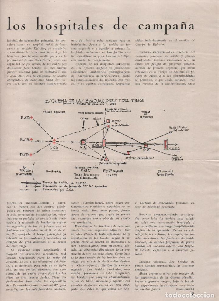 Militaria: LA VOZ DE SANIDAD, REPUBLICA- DEL EJERCITO EN MANIOBRAS- AÑO I , Nº 1 - FEBRERO 1938,- 12 PAGINAS, - Foto 6 - 226789640
