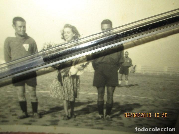 Militaria: capitan equipo de TRANSMISIONES DE JULIO 1941 futbol de CEUTA VOLUNTARIOS DIVISION AZUL - Foto 4 - 226817310