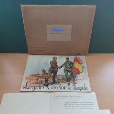 Militaria: LA LEGIÓN CÓNDOR SE DESPIDE. COMPLETO. Lote 234890320
