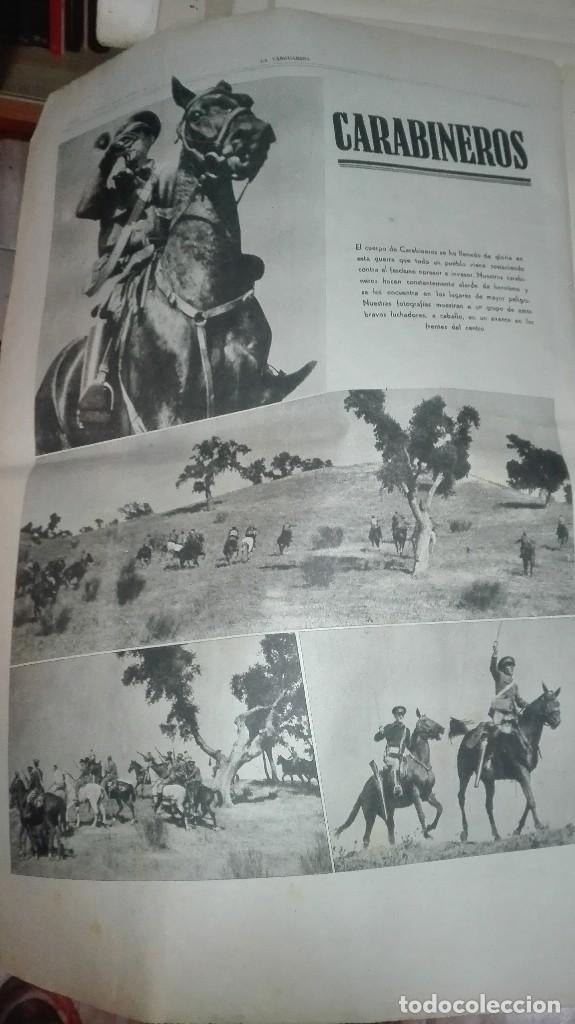 Militaria: LA VANGUARDIA. REPUBLICA. EN EL FRENTE DE HUESCA. NOTAS GRAFICAS. 4 PAGINAS. 28 DE OCT DE 1936. - Foto 2 - 234909705