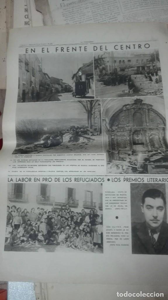 Militaria: LA VANGUARDIA. REPUBLICA. EL CUERPO ANTITANQUISTAS. NOTAS GRAFICAS. 4 PAGINAS. 23 DE DICIEM DE 1936. - Foto 3 - 234926200