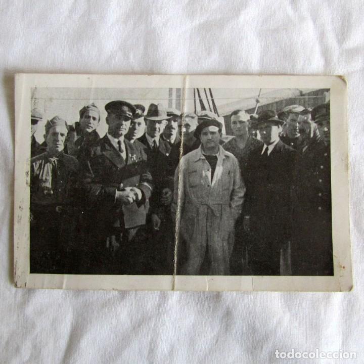 TARJETA POSTAL ASOCIACIÓN DE AMIGOS DE LA UNIÓN SOVIÉTICA 1937, GUERRA CIVIL, GERONA (Militar - Guerra Civil Española)