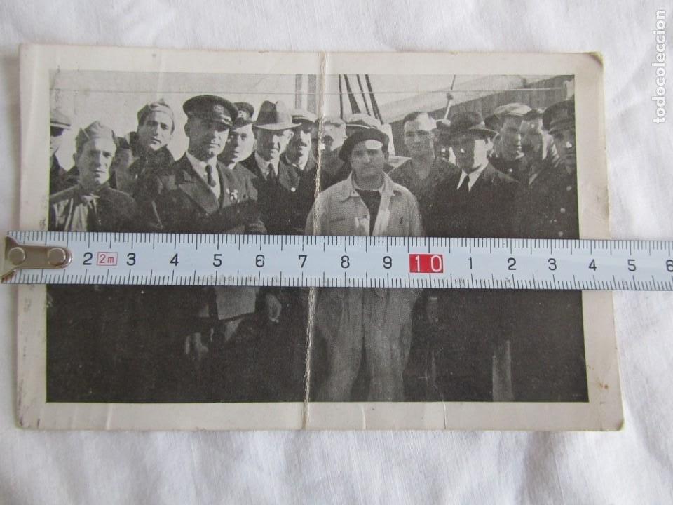 Militaria: Tarjeta postal Asociación de amigos de la Unión Soviética 1937, Guerra Civil, Gerona - Foto 7 - 243851320
