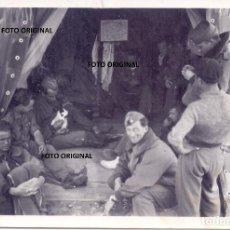 Militaria: TIENDA PILOTOS ITALIANOS REGIA AVIAZIONE, ESPAÑOLES, MAPA ZONA NORTE GUERRA CIVIL. Lote 245165705