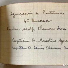 Militaria: DIARIO DE OFICIAL EJÉRCITO NACIONAL - GUERRA CIVIL - FRENTE DE CATALUÑA - EBRO - ENERO A ABRIL 1939. Lote 260428085